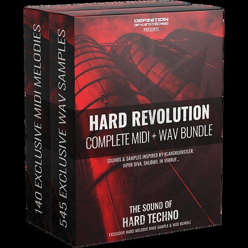 TLM BU #1 - HARD REVOLUTION BUNDLE SAMPLE PACK & MIDI PACK