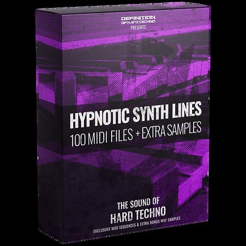 TLM MIDI #3 - HYPNOTIC SYNTH LINES MIDI PACK + WAV SAMPLES