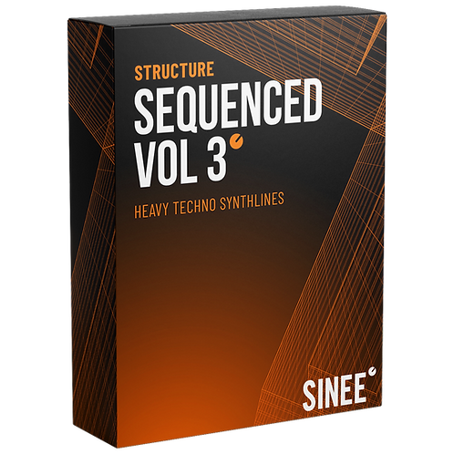 STRUCTURE AUDIO - HEAVY TECHNO SYNTHLINES SEQUENCED VOL.3