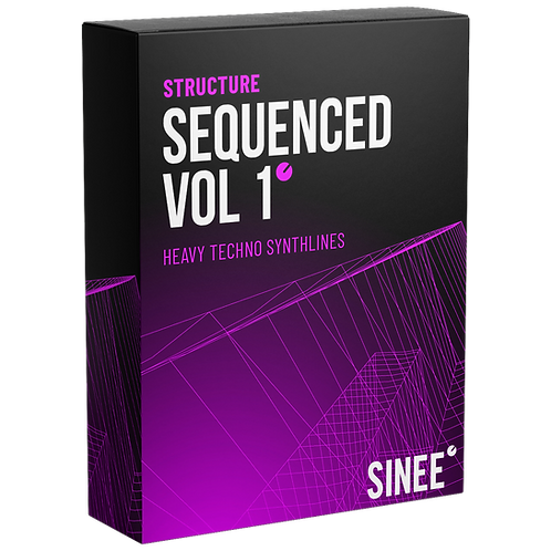 STRUCTURE AUDIO - HEAVY TECHNO SYNTHLINES SEQUENCED VOL. 1