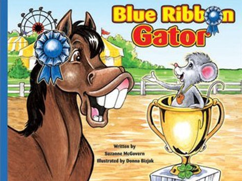 Blue Ribbon Gator Storybook