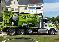 All County Mobile Concrete big green mobile concrete Zim-Mixer