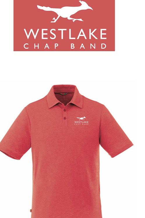 Westlake Band Red Parent Polo