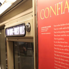 MASS POETRY: POETRY ON THE T