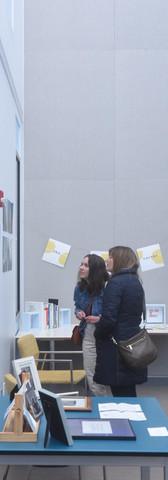 Visualizing Language gallery display