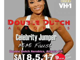 Join Mimi Faust for Double Dutch Aerobics in Atlanta!