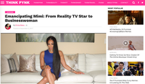 INTERVIEW: PYNK Magazine - Emancipating Mimi Faust: From Reality TV Star to Businesswoman