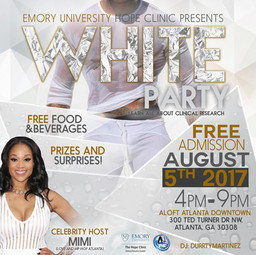 Join Mimi Faust at Emory's University All White Party on August 5th!