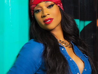 Mimi Faust Covers URBAN Magazine
