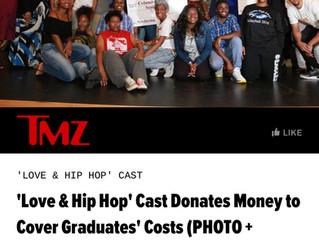 'Love & Hip Hop' Cast Mimi Faust, Rasheeda, Karlie Redd, and Sierra Donates Money to Cov