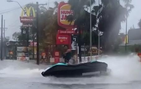 Torrential rain brings fire relief to the East Coast!