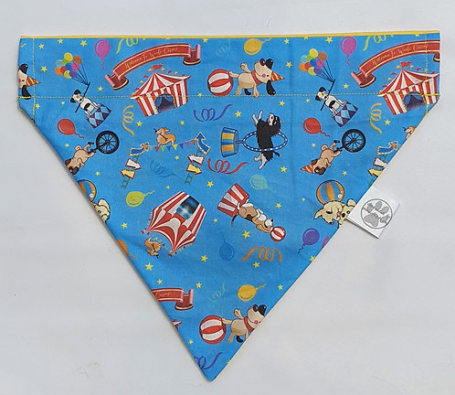 Woofs Circus Exclusive D2P Print Over Collar Dog Bandana