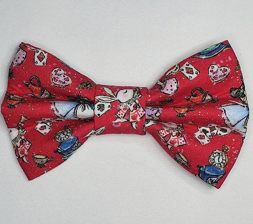 Alice - Wonderland Dog Bow Tie