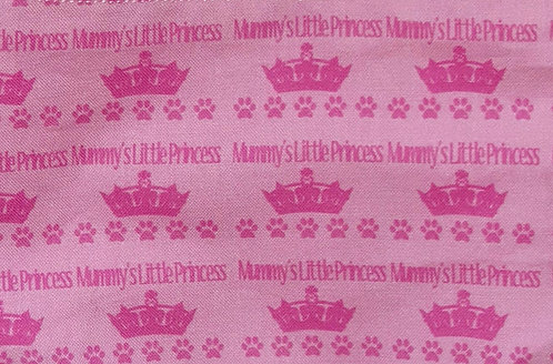 Mummys Little Princess Over Collar Dog Bandana