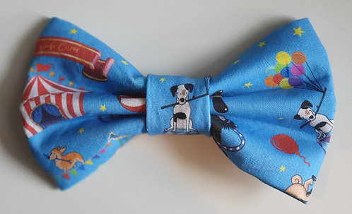 Woofs Circus Exclusive D2P Print Dog Bow Tie