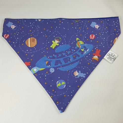 Cosmic Space Over Collar Dog Bandana