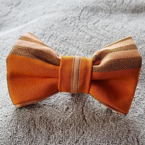 Tartan Dog Bow Tie ORANGE