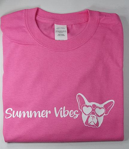 SUMMER VIBES various colours & prints Tee Shirt