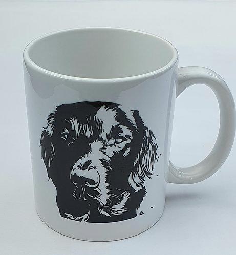 FLATCOAT Retriever Lover Print Mug