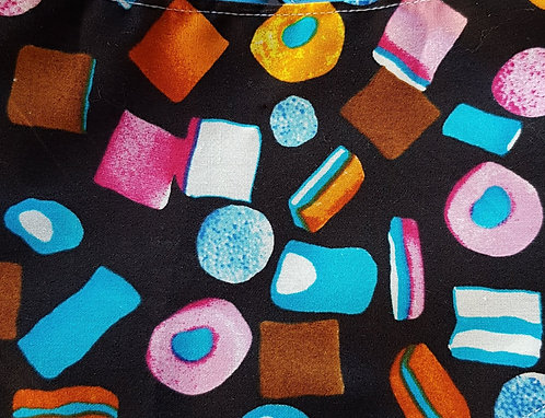 Liquorice Allsorts Over Collar Dog Bandana