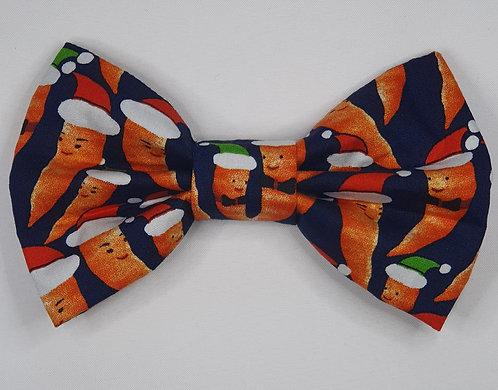 CARROTS Dog Bow Tie
