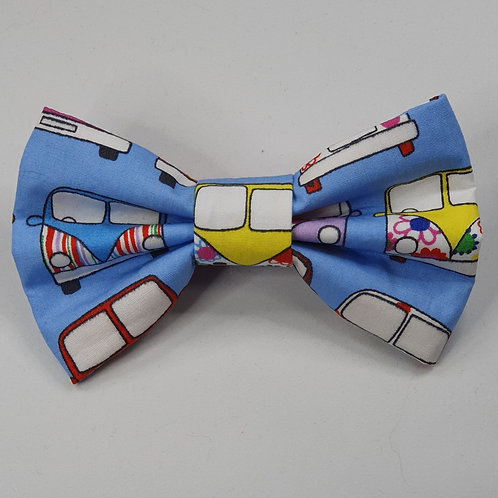 Campervan Dog Bow Tie