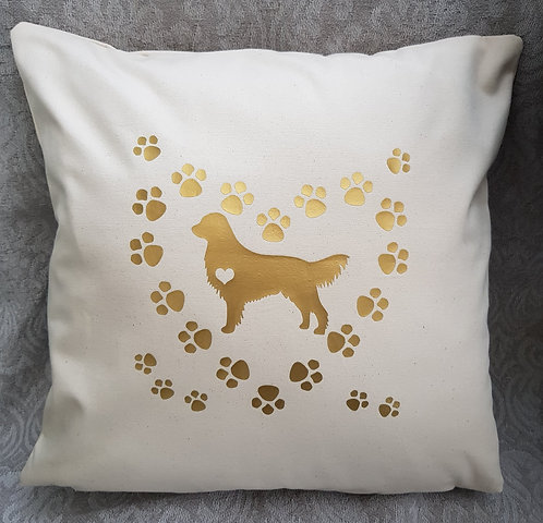 Dog Cushion Cover GOLDEN RETRIEVER