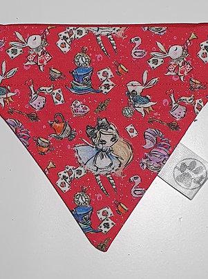 Alice - Wonderland Over Collar Dog Bandana