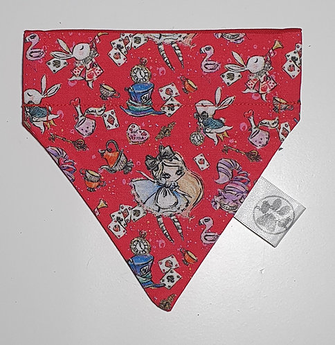 Alice - Wonderland Over Collar Dog Bandana