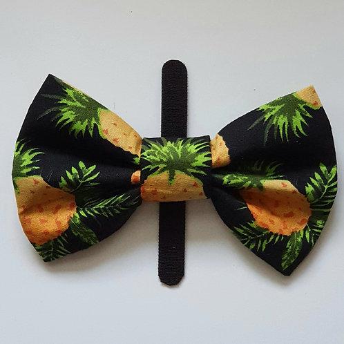 Pineapple Dog Bow Tie