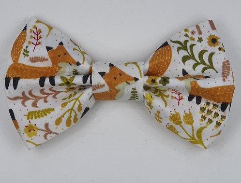 Foxy Fox Dog Bow Tie