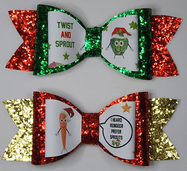 XMAS CARROT SPROUT GLIITER BOWS.jpg