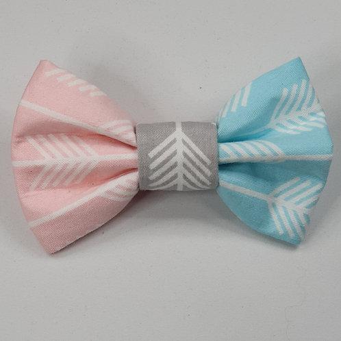 Three Colour Arrow Dog Bow Tie