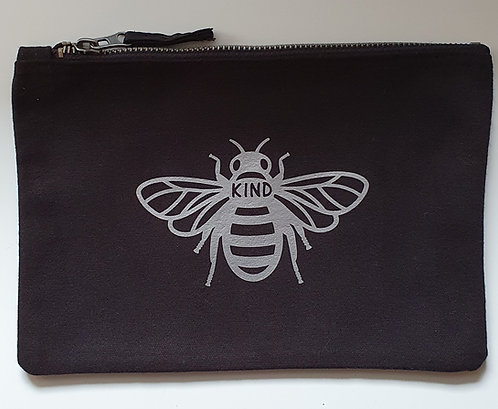 Bee Kind Zip Pouch