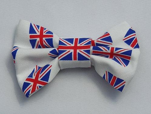 Mini Flags Dog Bow Tie