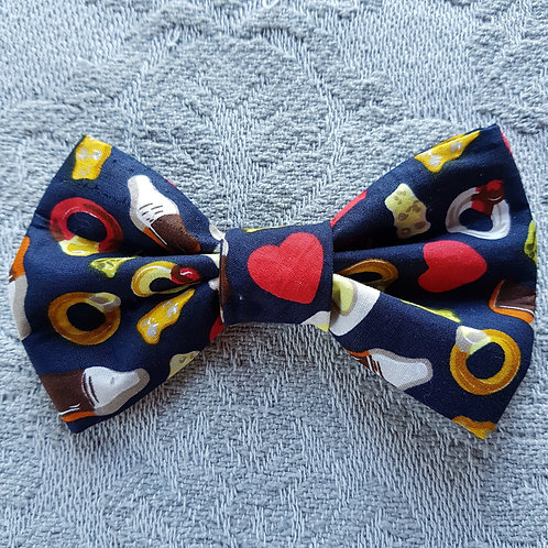 Jelly Sweets NAVY DOG BOWTIE