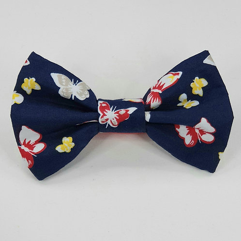 Butterfly Dog Bow Tie