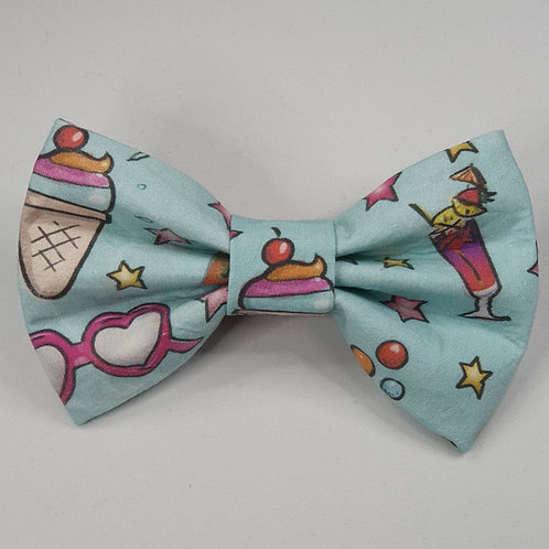 EXCLUSIVE Summer Vibes Dog Bow Tie