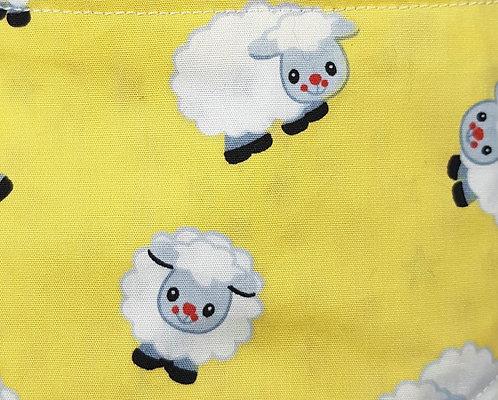 Sheep Over Collar Dog Bandana