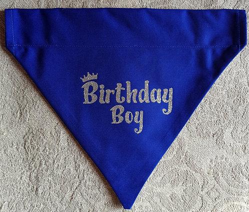 BIRTHDAY BOY Dog Bandana