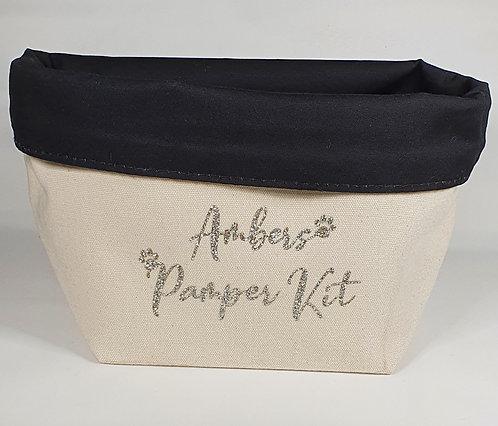 Personalised Pamper Bag