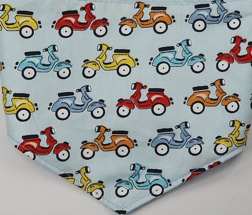 Scooter Over Collar Dog Bandana