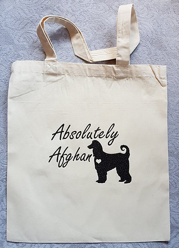 ABSOLUTELY AFGHAN Shopping Bag