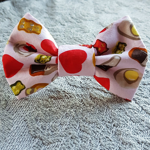 Jelly Sweets PINK DOG BOWTIE