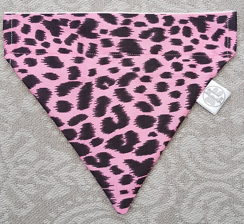 Leopard Dog Bandana PINK