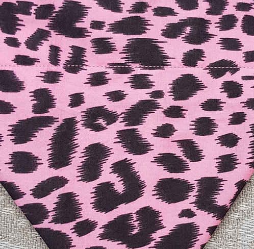 PINK ANIMAL PRINT FACE MASK