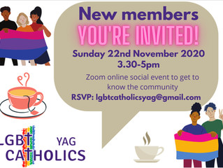 November Welcoming Event