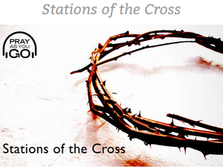 Stations of the Cross in Lent