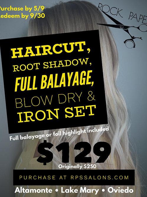 Balayage, Root Shadow, Haircut and Style