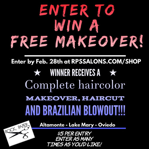 Makeover Raffle!!!